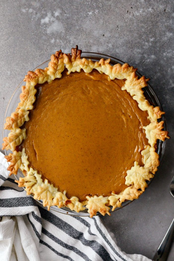 Classic Pumpkin Pie l SimplyScratch.com #homemade #fromscratch #classic #pumpkin #pie #recipe