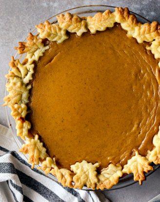 Classic Pumpkin Pie l SimplyScratch.com #homemade #fromscratch #classic #pumpkin #pie #recipe