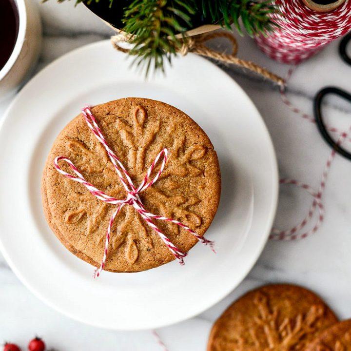 Speculoos Cookies (Dutch Windmill Cookies)