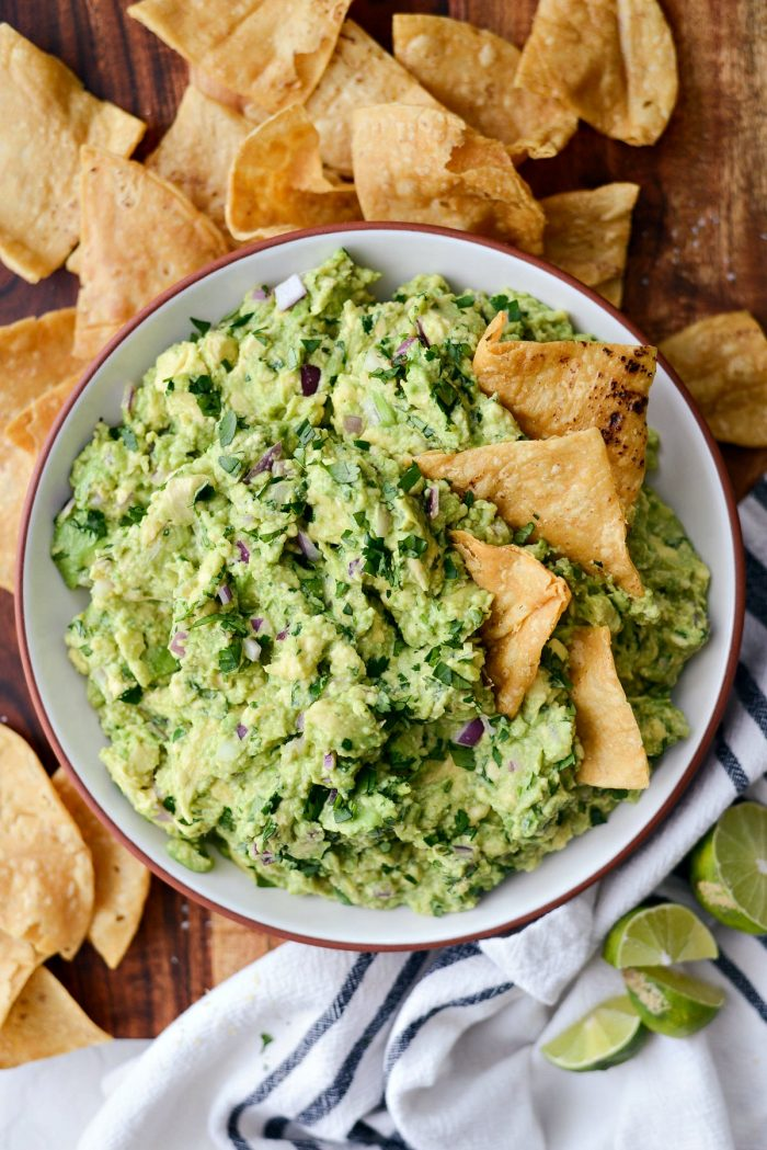 Best Homemade Guacamole Recipe Simply Scratch
