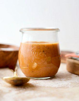 Chipotle Honey Vinaigrette l SimplyScratch.com #homemade #chipotle #honey #vinaigrette