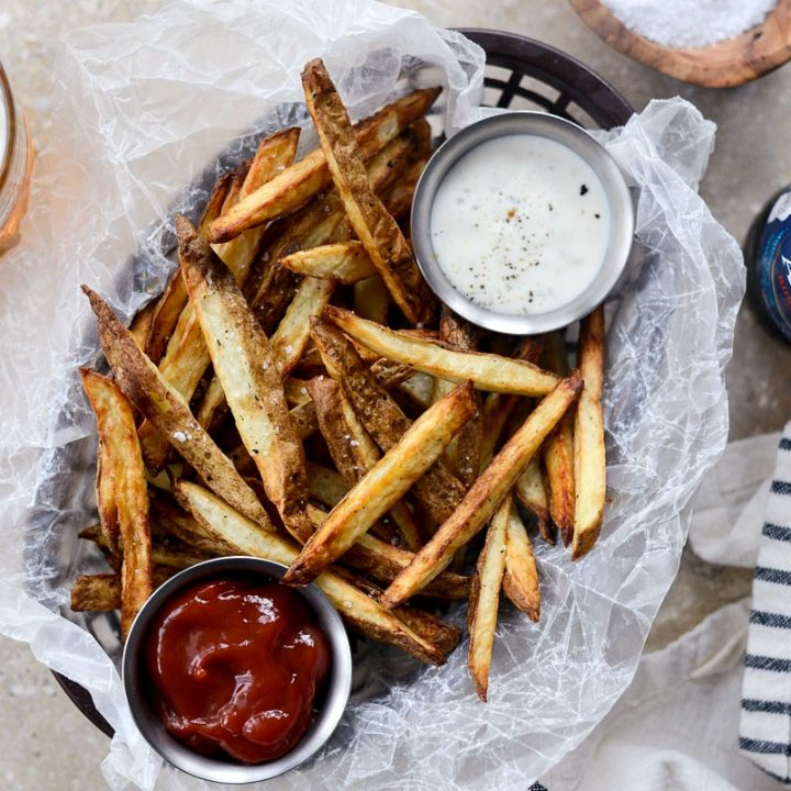 Homemade Air Fryer French Fries Simply Scratch