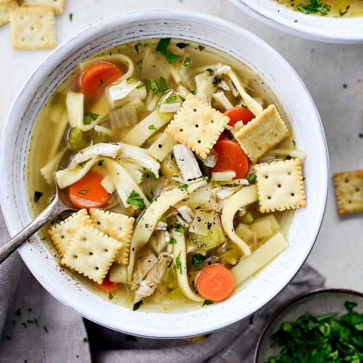 Homemade Chicken Noodle Soup Simply Scratch