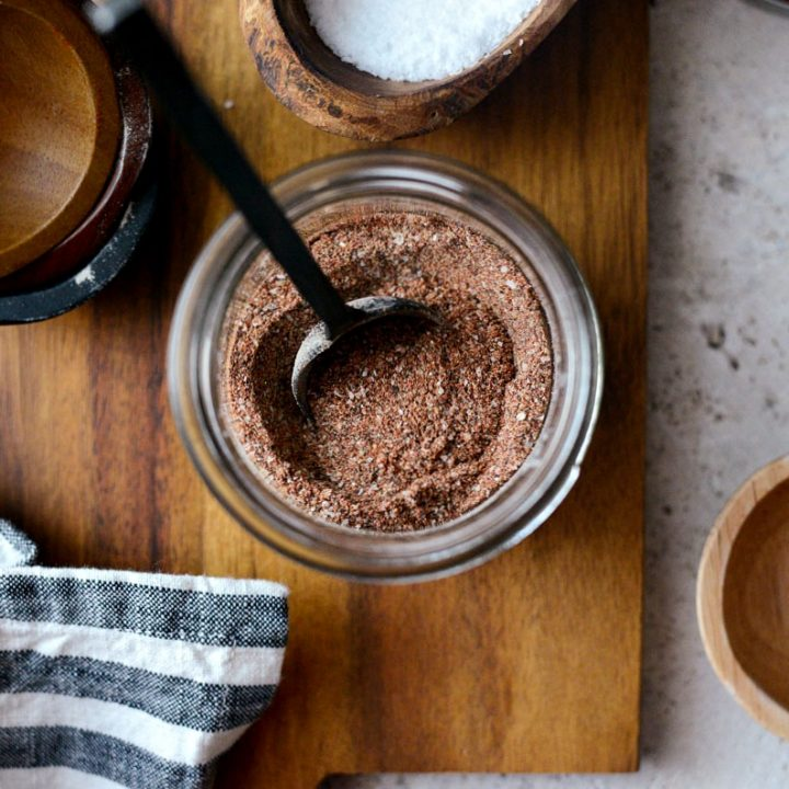 Homemade Fajita Seasoning l SimplyScratch.com #homemade #fromscratch #seasoning #fajita #recipe #spiceblend #DIY