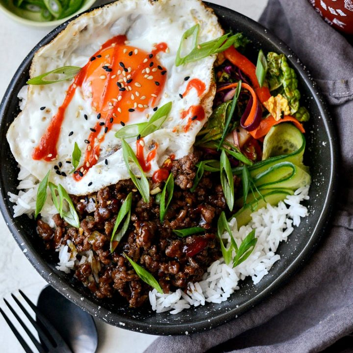 Korean BBQ Beef Bowls