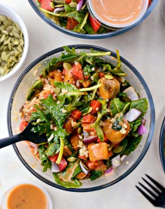 Winter Butternut and Kale Grain Bowls (Meal Prep!) l SimplyScratch.com #mealprep #winter #healthy #grainbowls #butternutsquash #kale