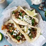 Easy Beef Street Tacos l SimplyScratch.com #beef #steak #streettaco #taco #tacotuesday #corntaco