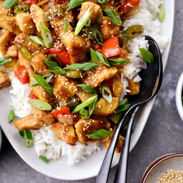 Healthy Sesame Chicken Simply Scratch