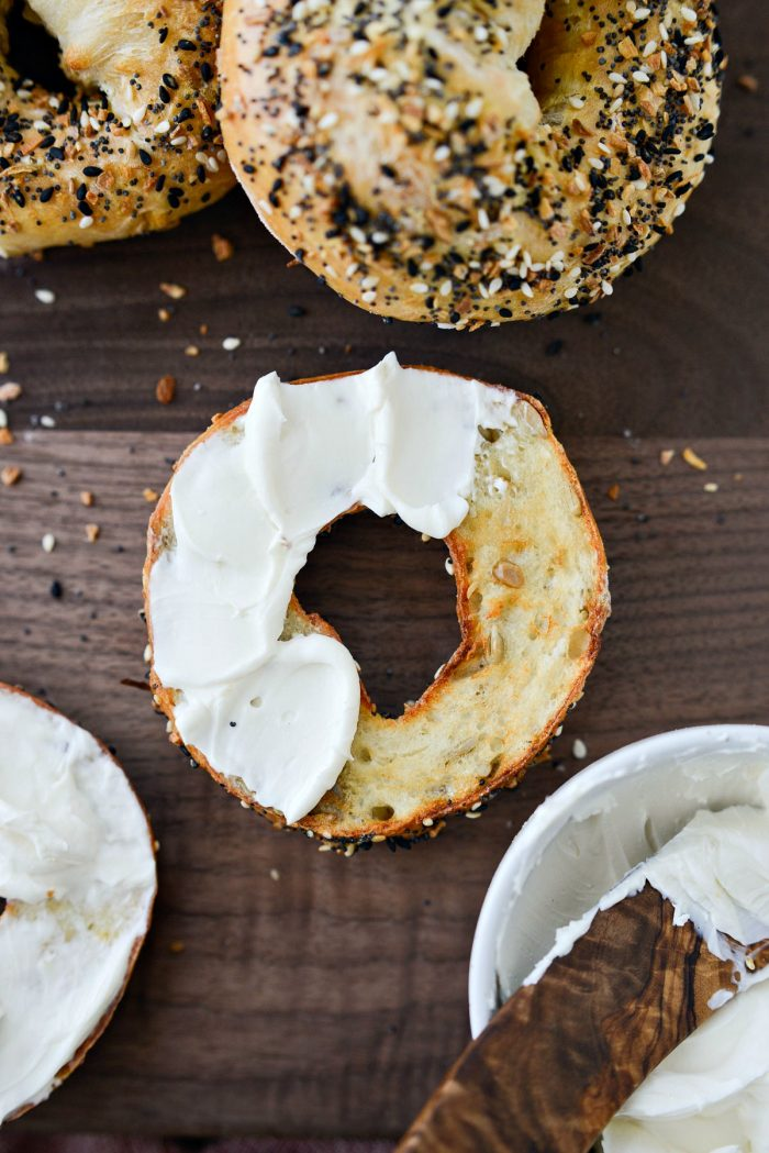 Air Fryer Everything Bagels l SimplyScratch.com #airfryer #airfried #everything #bagels #everythingseasoning #light #lowfat #ww #lowpoint