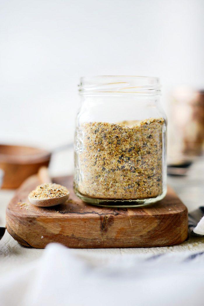 Homemade Lemon Pepper Seasoning l SimplyScratch.com #homemade #lemonpepper #seasoning #fromscratch #diy #spices