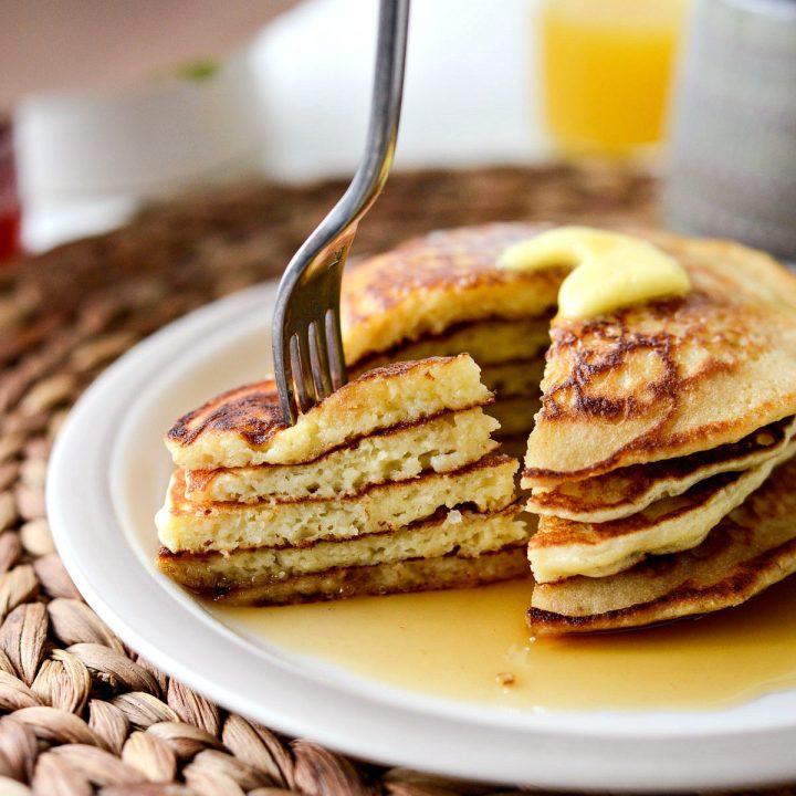 Homemade Pancake Mix l SimplyScratch.com #homemade #fromscratch #pancake #mix #easy #kitchenbasic