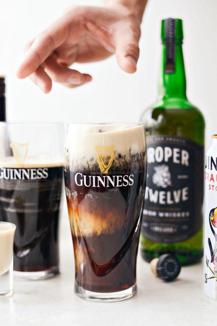shot in Guinness
