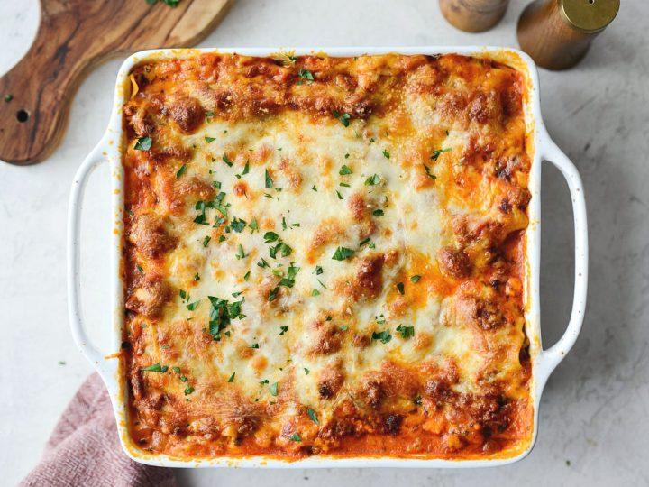 Small Batch Lasagna Simply Scratch