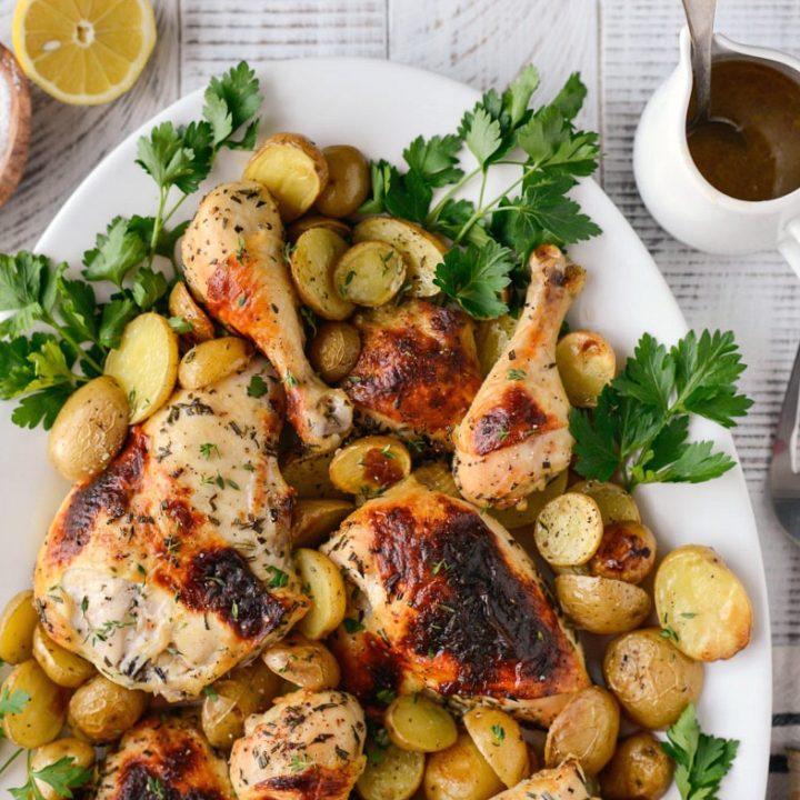 Buttermilk Roasted Chicken Dinner