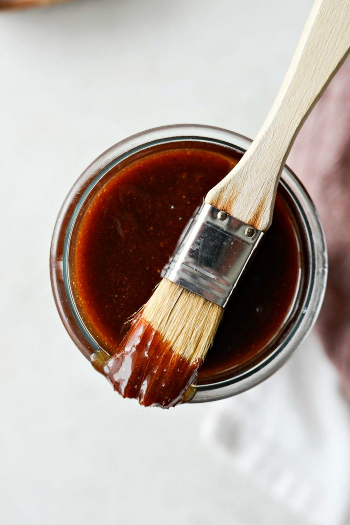 Homemade Sweet Barbecue Sauce l SimplyScratch.com #sweet #barbecue #bbq #sauce #fromscratch #grilling #copycat #sweetbabrays