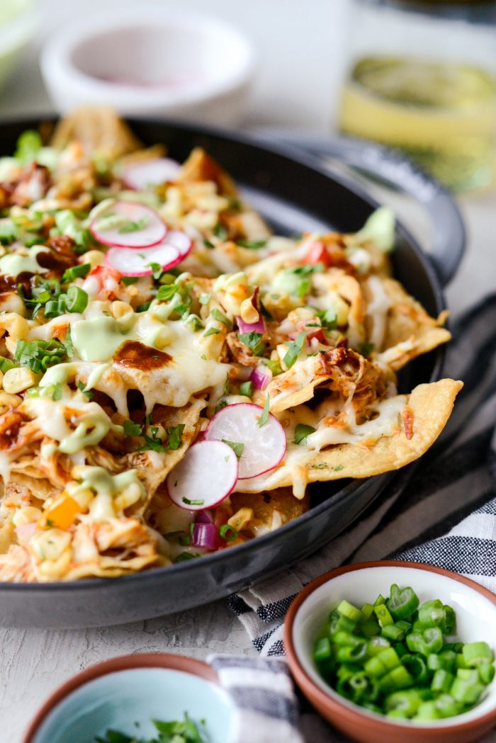 Jacuzzi Chicken Nachos l SimplyScratch.com #chicken #nachos #easy #dinner #appetizer
