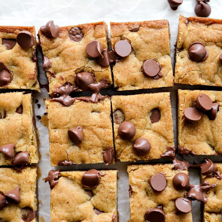 Brown Butter Chocolate Chip Blondies
