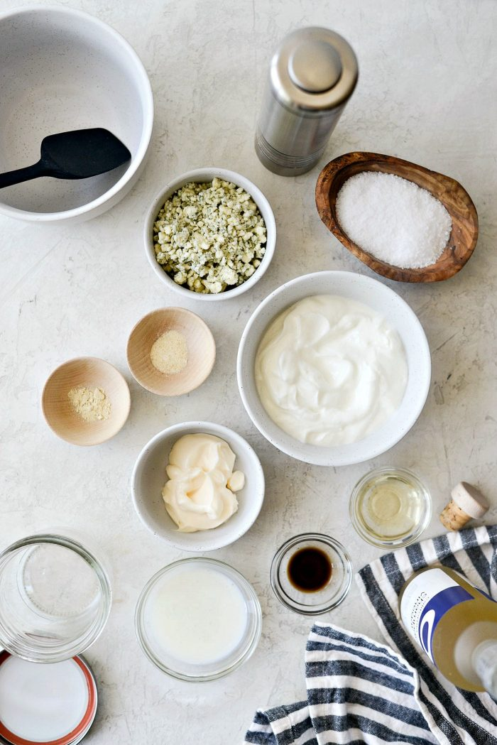 greek yogurt blue cheese salad dressing ingredients
