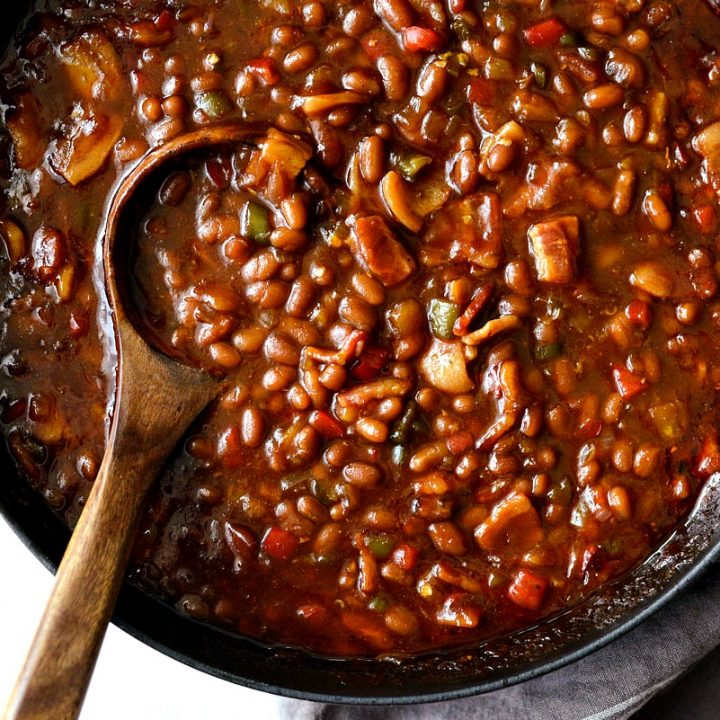 One Pot Wicked Baked Beans