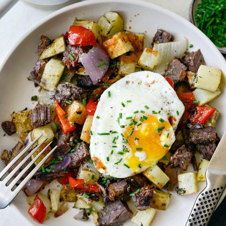 Smoked Brisket Breakfast Potatoes