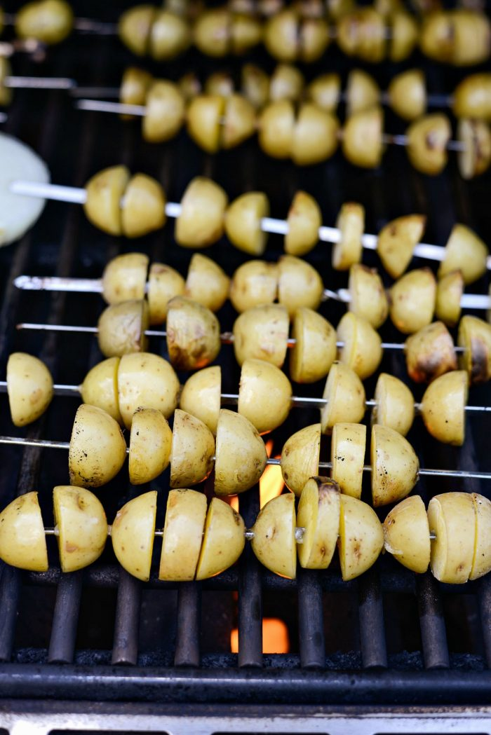 grilling potatoes