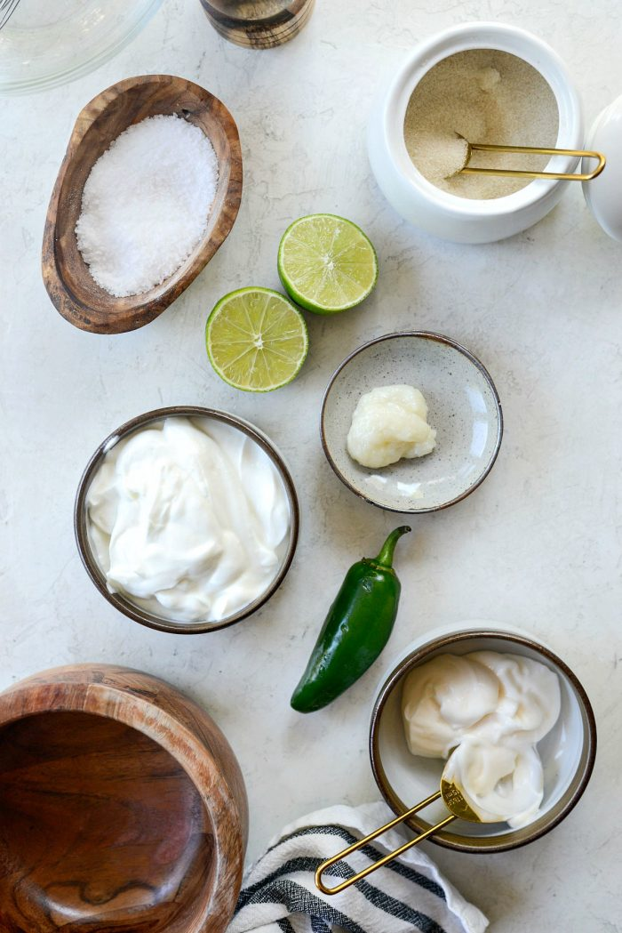 jalapeno crema ingredients