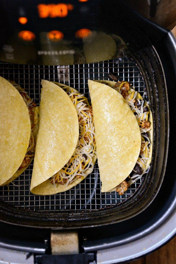 tacos in air fryer