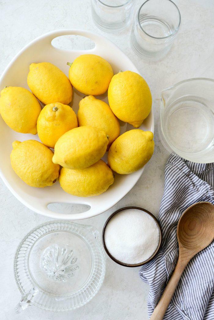 old fashioned lemonade ingredients