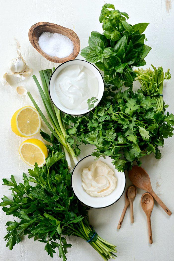 greek yogurt green goddess salad dressing ingredients