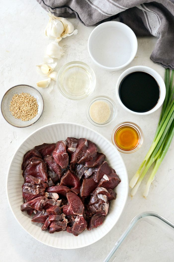 venison marinade ingredients