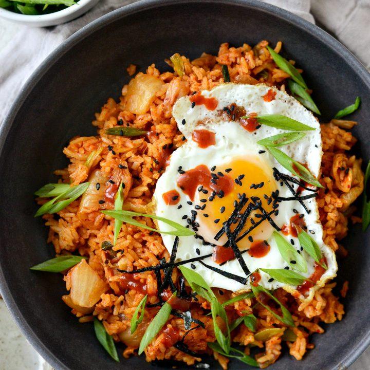 Korean Fried Rice Recipe