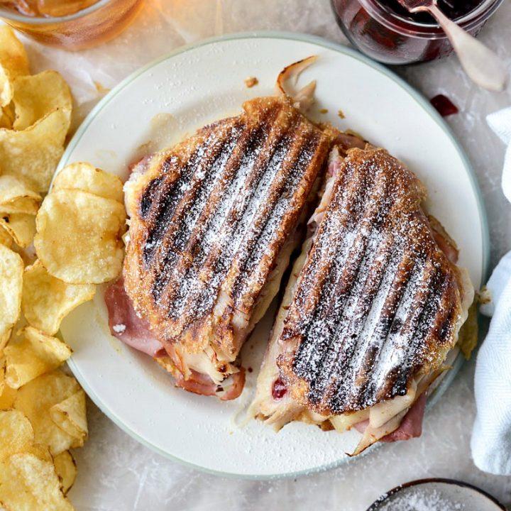 Monte Christo Croissant Panini
