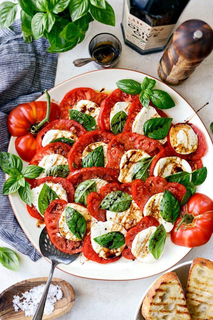Caprese Salad Recipe Gino