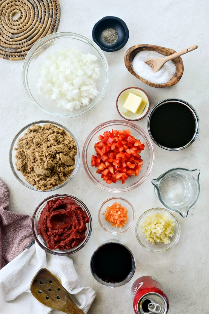 Coca Cola Habanero BBQ Sauce ingredients