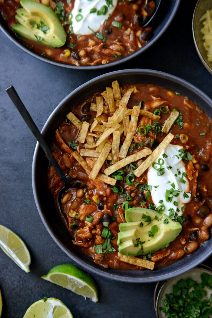 Southwest Chicken Chili.