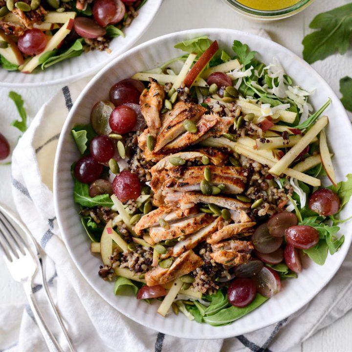 Ancient Grain Arugula Salad