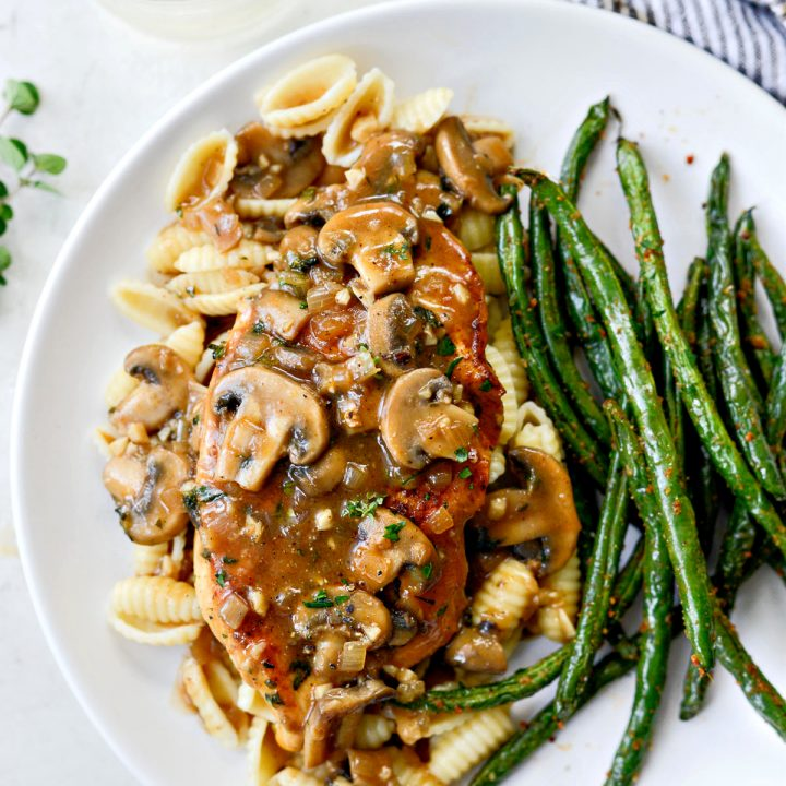 Lighter Chicken Marsala