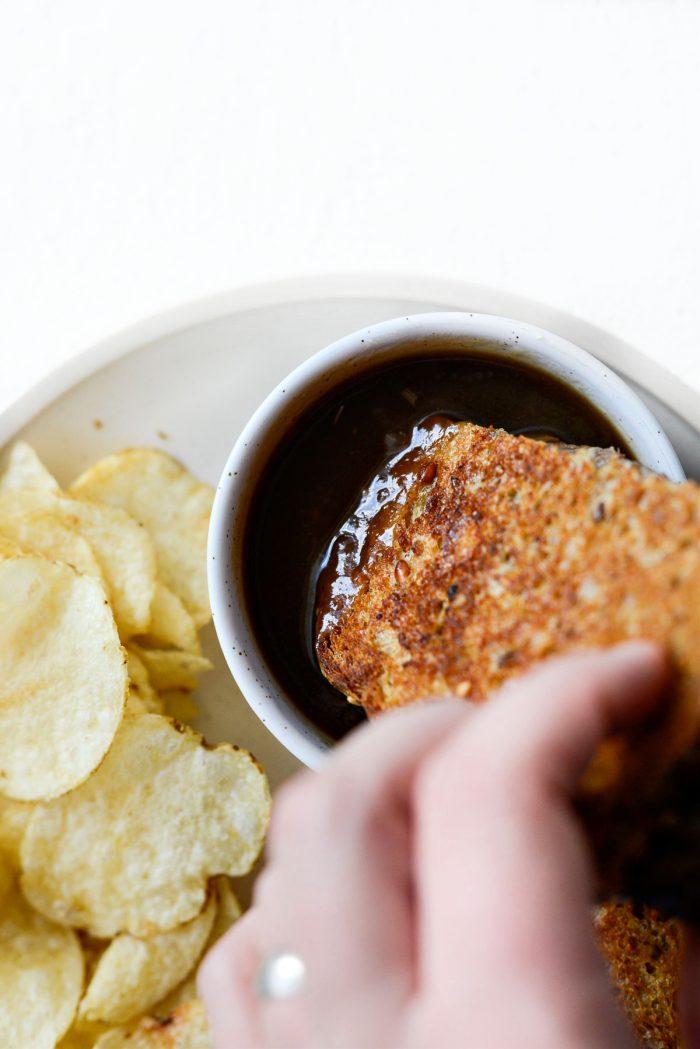 dip in extra gravy