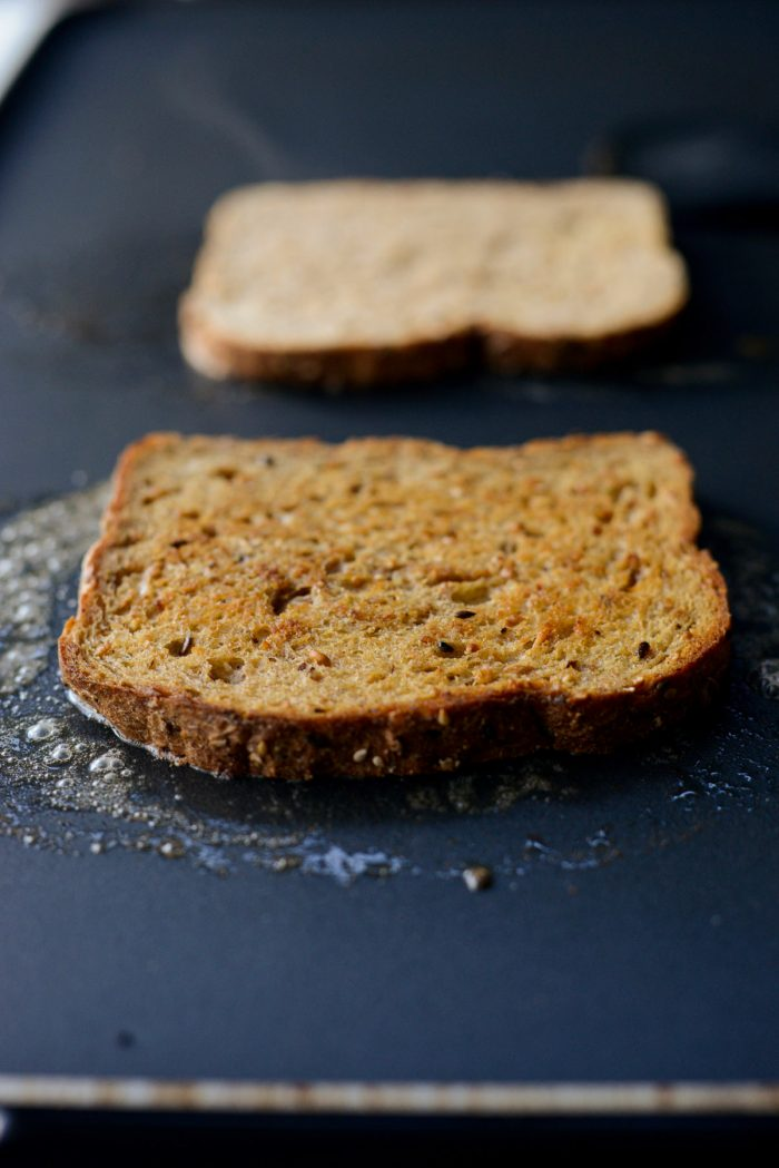 flip the bread