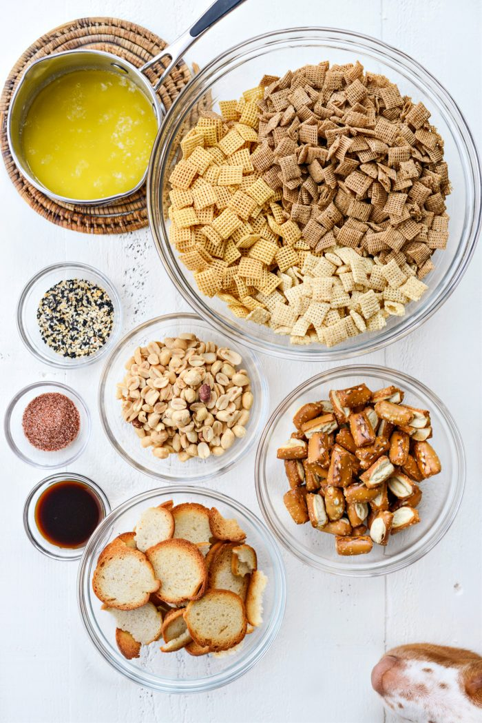 Everything Plus The Bagel Chex Mix ingredients