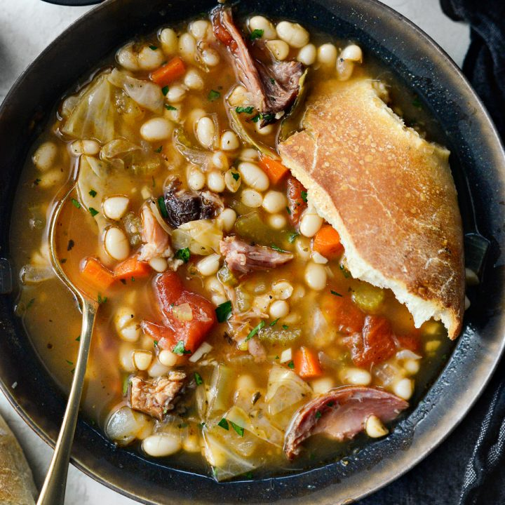 Rustic Ham and Bean Soup
