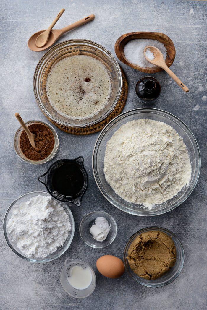 Super Soft Gingerbread Cookies ingredients