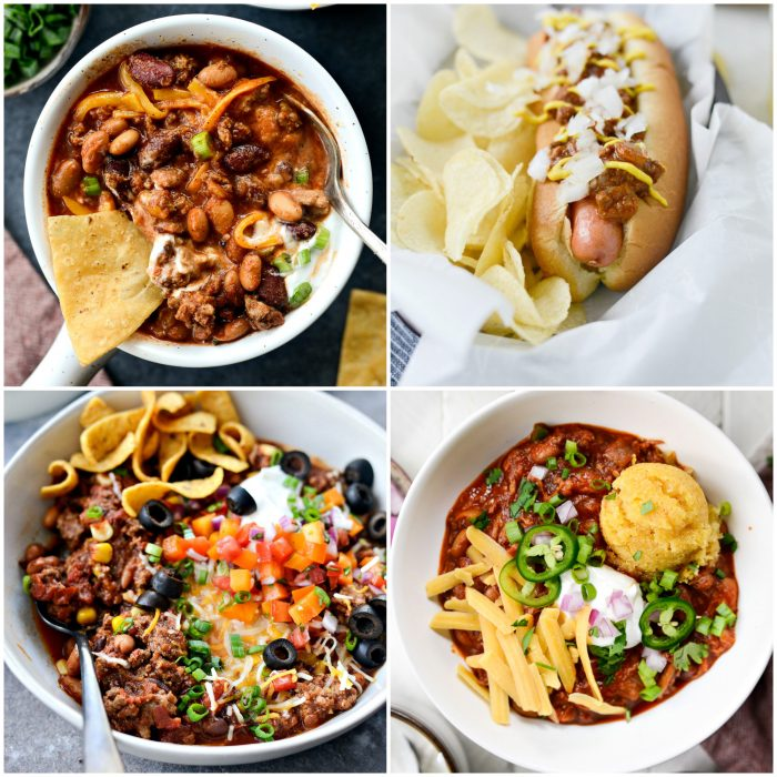 all things chili in perfect game day recipes