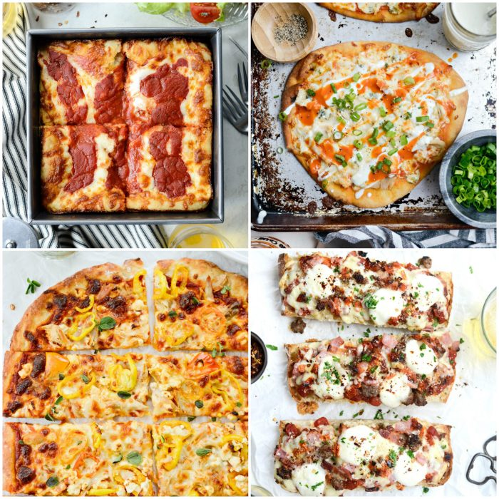 pizza and flatbreads in perfect game day recipes