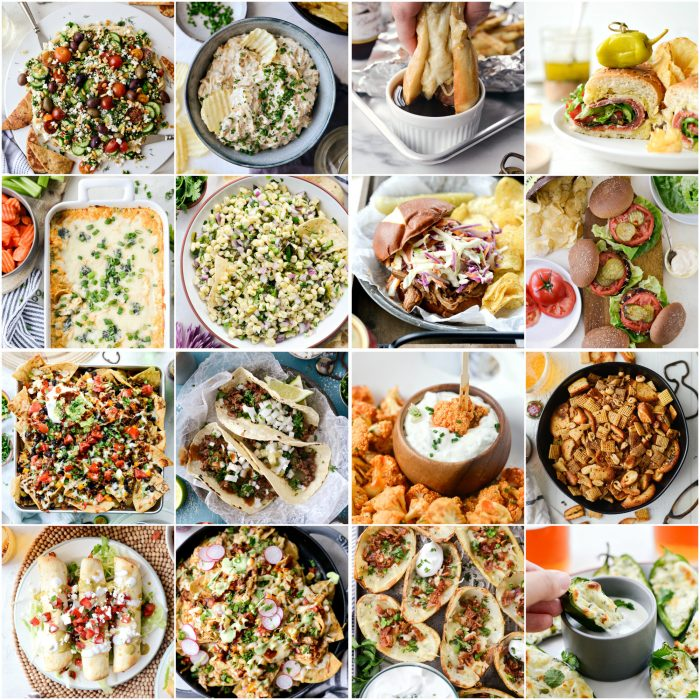 perfect game day recipes
