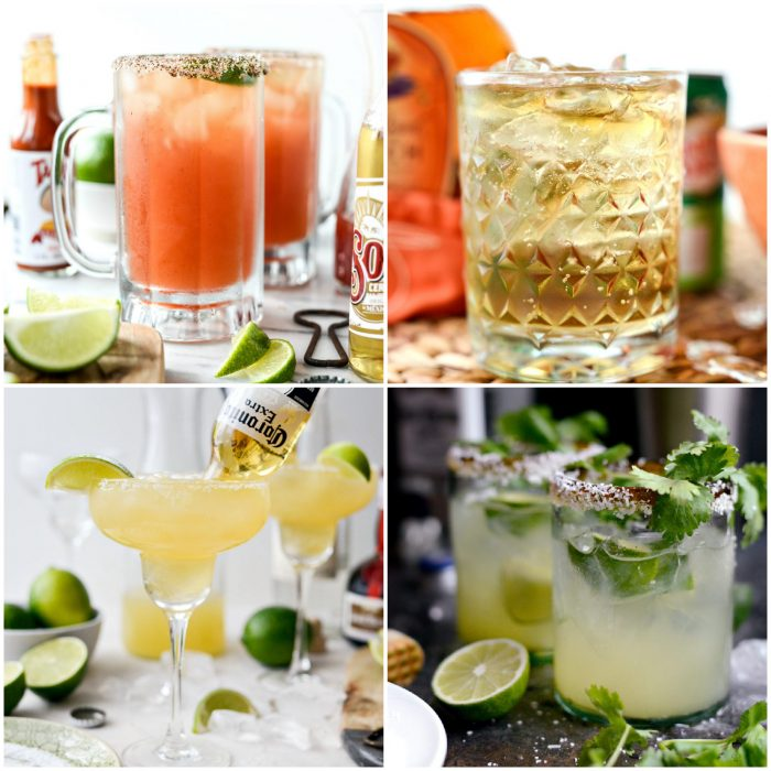 drinks in perfect game day recipes