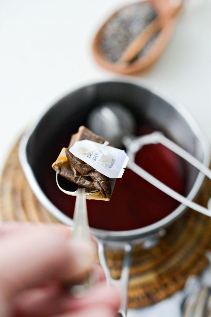 remove tea bag