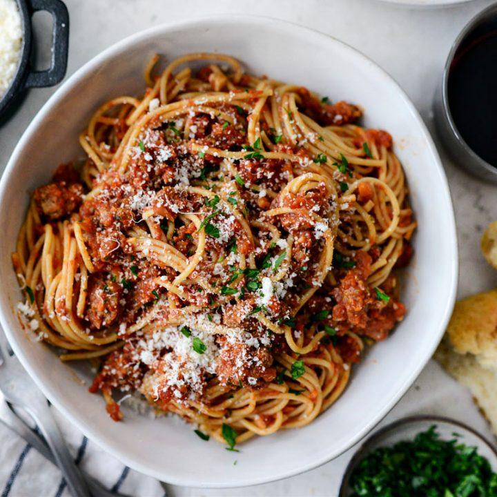 Slow Baked Spaghetti Sauce