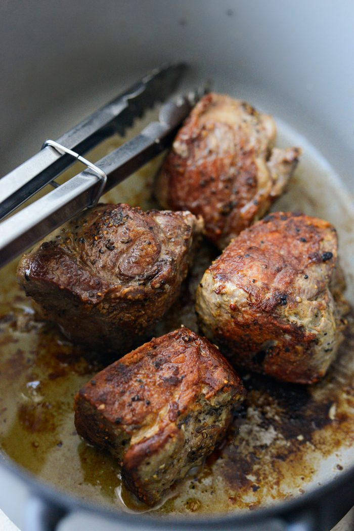 searing pork 1