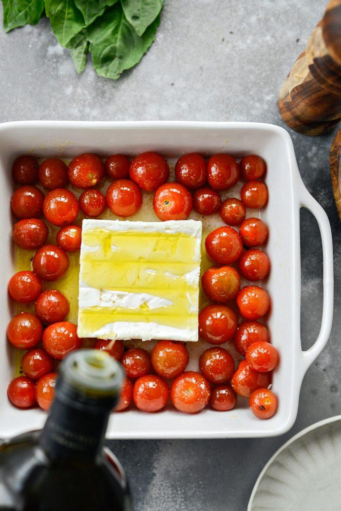 add block feta and more olive oil